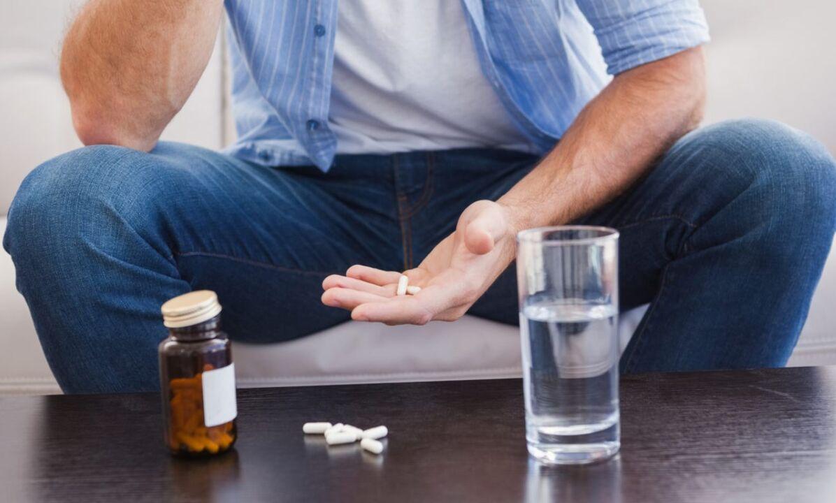 A prosztatitis kezelés tablettái Prostatitis férfiak és kezelés otthonában